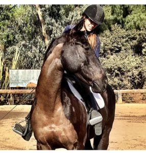 Equestrian Style - Leilani Dowding and Elante