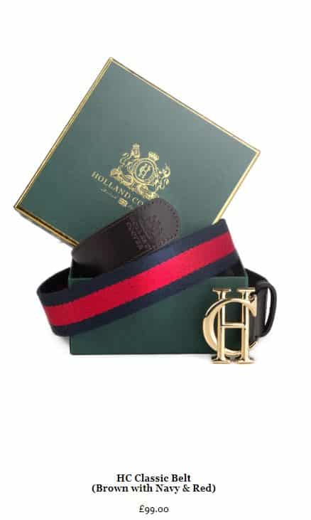 Christmas Gift Guide - Holland Cooper Belt