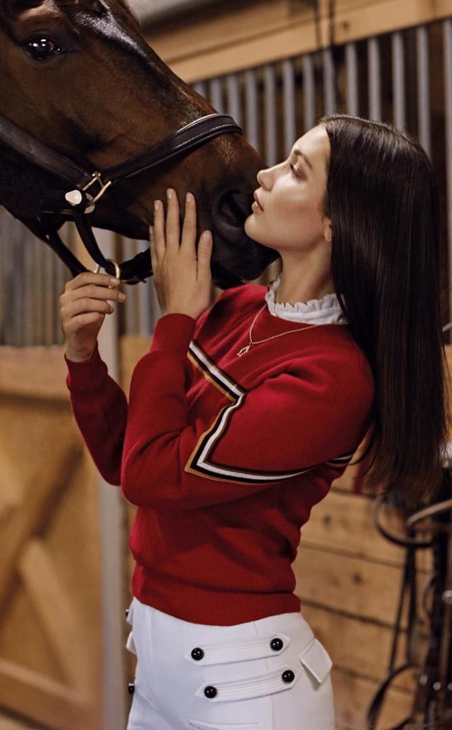 Celeb Horse Style - Bella Hadid