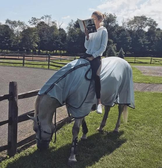 Celeb Horse Style - Gigi Hadid